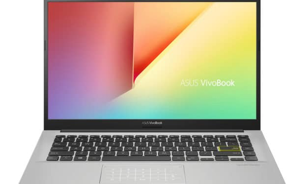 """Asus Vivobook S413FA-EK672T, Ultrabook 14"""" argent rapide fin et léger avec NumberPad et Optane (599€)"""