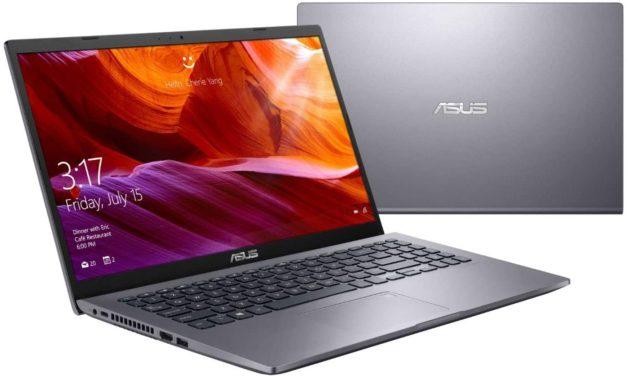 """<span class=""""nouveau"""">Nouveau 529€</span> Asus X509JA-EJ016T, PC portable 15"""" argent pas cher léger et rapide avec SSD"""