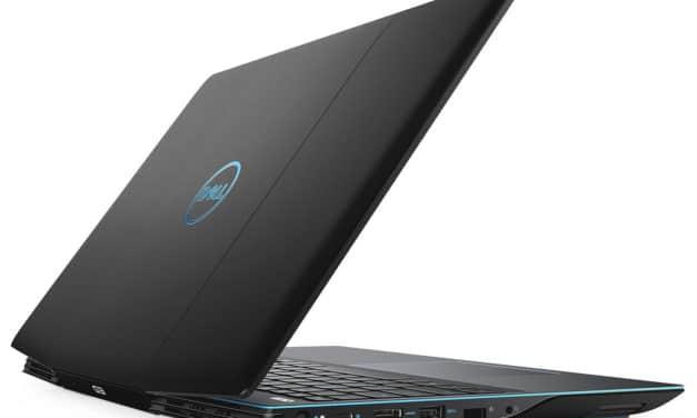"Dell G3 15 3590, PC portable 15"" gamer polyvalent noir fin GTX 1660 Ti (999€)"