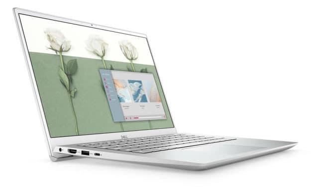 "Dell Inspiron 14 5401, Ultrabook 14"" argent fin léger et rapide avec SSD 512 Go (759€)"