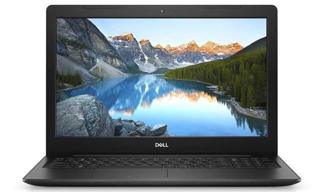 """Dell Inspiron 15 3593, PC portable 15"""" noir rapide pas cher avec SSD 512 Go (549€)"""