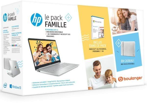 HP 15s-fq1032nf pack