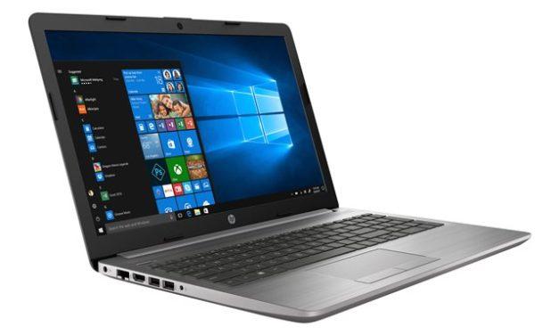 """HP 250 G7 (175T0EA), PC portable 15"""" Pro argent léger et rapide avec RAM 16 Go et DVD (874€)"""