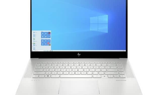 HP Envy 15-ep0083nf, 15 pouces sobre et performant 4K OLED tactile et RTX 2060 (2499€)