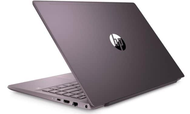 "HP Pavilion 14-ce3031nf, ultrabook violet 14"" multimédia (739€)"