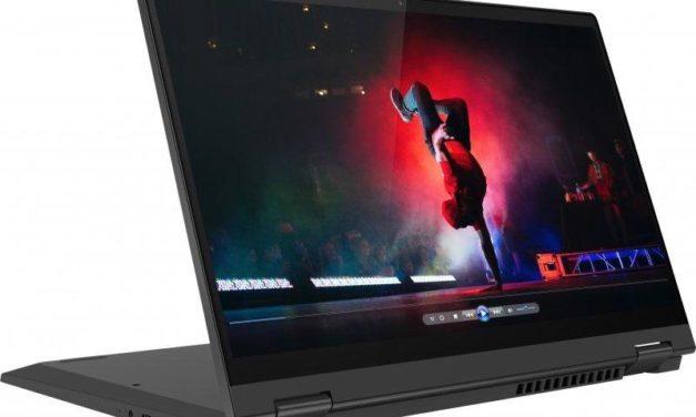 """<span class=""""nouveau"""">Nouveau 999€</span> Lenovo IdeaPad Flex 5 14IIL05, 14 pouces convertible en tablette rapide multimédia"""