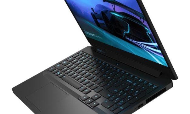 Lenovo IdeaPad Gaming 3 15IMH05, PC portable 15 pouces jeu et polyvalence 120Hz et GTX 1650 Ti (899€)