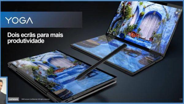 Lenovo Yoga double écran