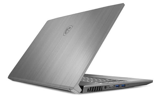 """MSI Creator 17M A10SE-223FR, PC portable 17"""" 144Hz argent léger créateur Pro orienté gamer RTX 2060 (1789€)"""