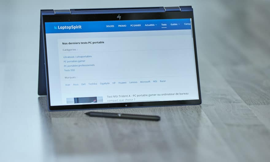 Test HP EliteBook Dragonfly - l'ultrabook parfait, exception faite de son processeur !