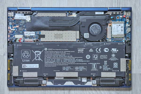 Test HP EliteBook Dragonfly G1 - Upgrade
