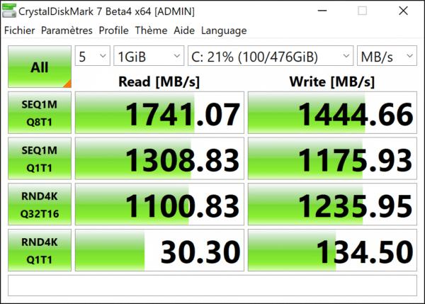 Test MSI Trident A 9SC - SSD
