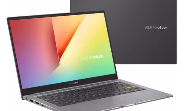 "<span class=""promo"">Promo 879€</span> Asus VivoBook S333JA-EG009T, ultrabook 13 pouces multimédia"