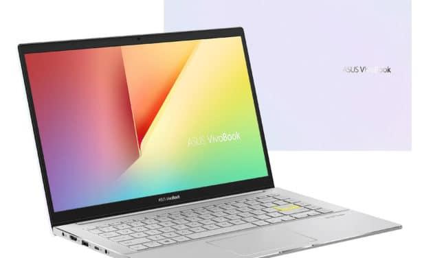 """Asus VivoBook S433IA-EB372T, ultrabook 14"""" puissant Ryzen 7 avec pavé numérique (799€)"""
