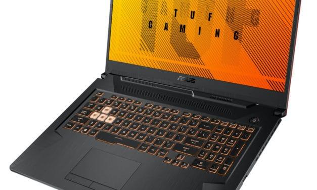 Asus A17 TUF706IU-H7154T, PC portable gamer 17 pouces polyvalent rapide (1199€)