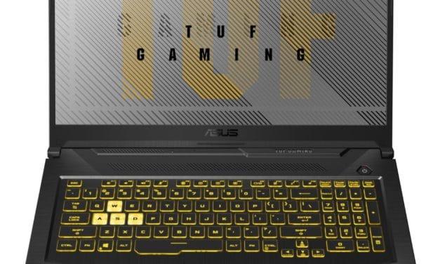 """<span class=""""promo-best"""">Promo 1499€</span> Asus TUF766IU-H7219T, PC gamer 17 pouces polyvalent et puissant avec Ryzen 9"""