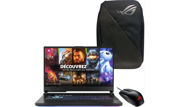 "<span class=""promo"">Promo 1999€</span> Asus ROG Strix G17 G712LW-EV063T, PC portable 17"" 144Hz gamer performant RTX 2070 + pack"