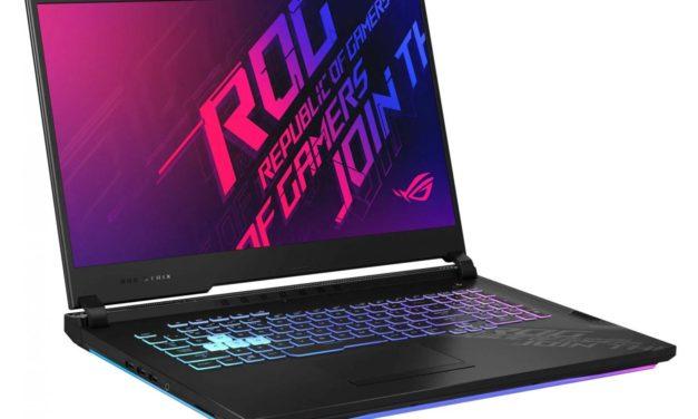 Asus ROG Strix G17 G712LV-EV009T, PC gamer 17 pouces rapide pour jeu exigeant (1599€)