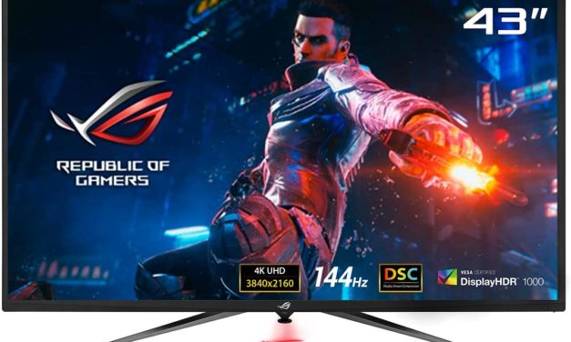 Asus ROG Swift PG43UQ, un moniteur 4K 144Hz pour gamer disponible en France