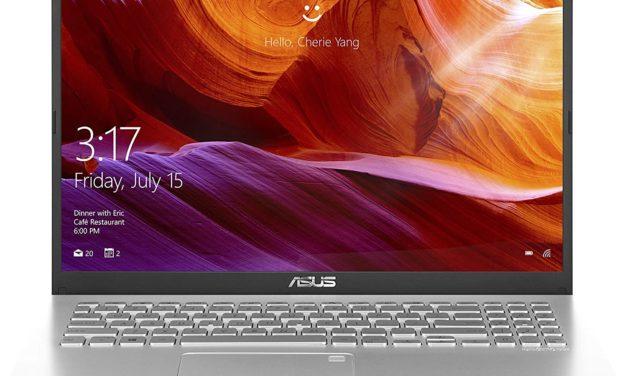 """Asus Vivobook R545FA-EJ161T, PC portable 15"""" argent Full HD rapide et léger avec gros stockage 1.1 To et graveur DVD (649€)"""