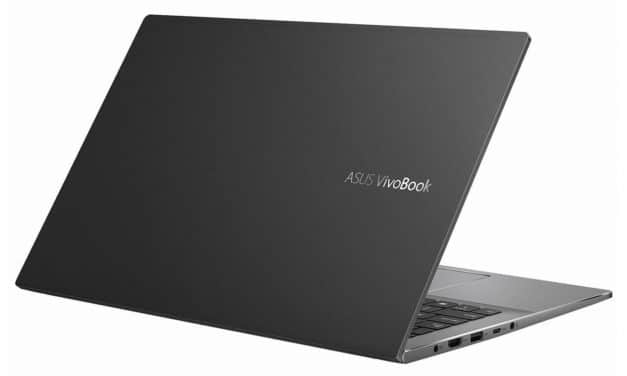 Asus Vivobook S533FA-BQ150T, ultrabook 15 pouces productif rapide (939€)