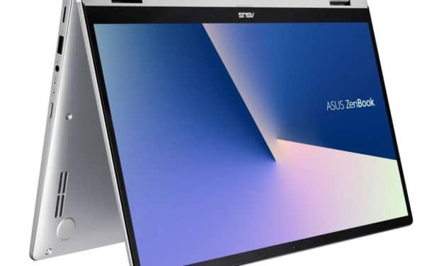 """<span class=""""promo"""">Promo 799€</span> Asus Zenbook Flip UM462DA-AI054T, 14 pouces tablette multimédia rapide"""