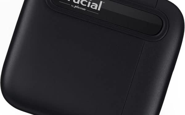 Crucial X6 Portable, nouveau SSD externe compact et version 2 To du Crucial X8 Portable
