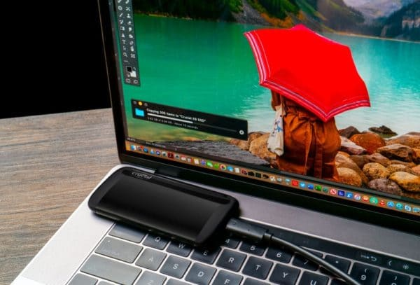Crucial X8 Portable SSD externe