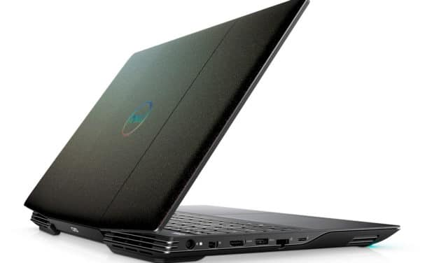 """Dell Inspiron G5 15 5500-276, PC portable 15"""" 300Hz gamer créateur RTX 2070 SSD 1 To TB3 (1999€)"""