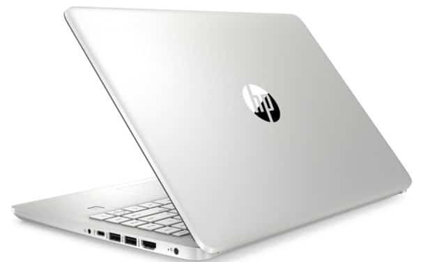"""<span class=""""promo-best"""">Promo 799€</span> HP 14s-fq0059nf, PC portable 14"""" polyvalent argent léger fin et rapide RAM 16 Go"""