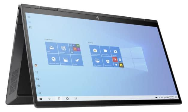 """HP Envy x360 13-ay0024nf, ultrabook 13"""" convertible Tablette confidentialité et puissance Octo Core (1199€)"""