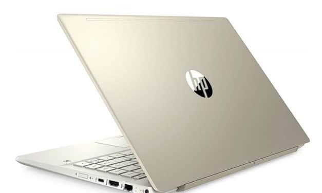 """<span class=""""nouveau"""">Nouveau 739€</span> HP Pavilion 14-ce3035nf, Ultrabook 14"""" Or polyvalent rapide fin et léger"""
