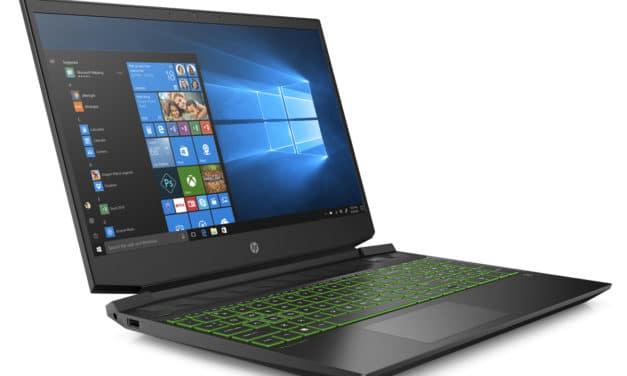 """HP Pavilion 15-ec1066nf, PC portable 15"""" polyvalent gamer noir rapide et léger avec GTX 1650 (849€)"""