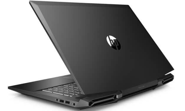 "HP Pavilion Gaming 17-cd1085nf, PC portable 17"" 144Hz gamer créateur GTX 1660 Ti 1.2 To (1399€)"