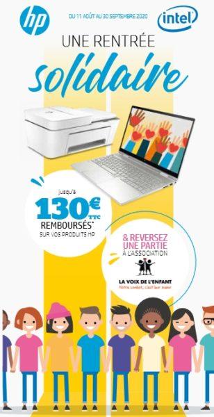 HP promotion bon plan pack 30sept20
