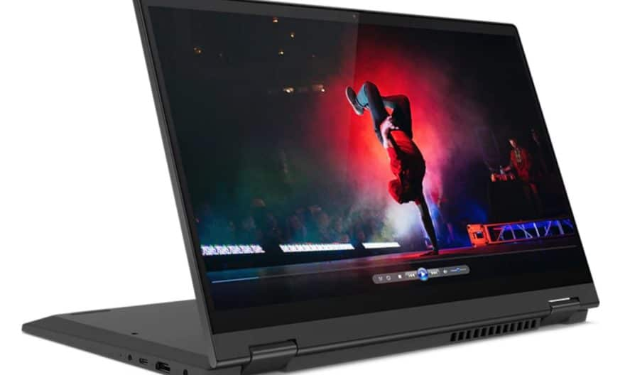 """<span class=""""promo-best"""">Promo 791€</span> Lenovo IdeaPad Flex 5 14ARE05, PC portable tablette 14"""" rapide et puissant Hexa Core"""