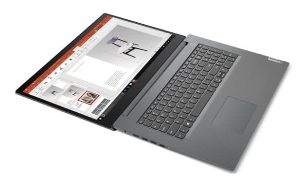"Lenovo V17 IIL, Ultrabook 17"" polyvalent léger avec Intel Ice Lake et GeForce MX330"