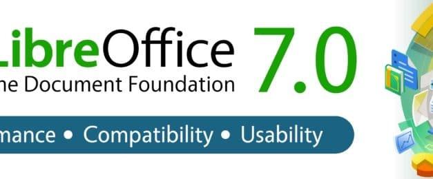 """<span class=""""tagtitre"""">LibreOffice 7.0 - </span>la suite bureautique gratuite concurrente d'Office disponible au téléchargement"""