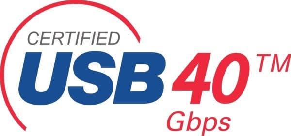 USB 4 logo
