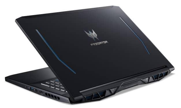 "Acer Predator PH317-53-78V4, PC portable 17"" 120Hz gamer créateur GTX 1660 Ti SSD 1 To (1550€)"