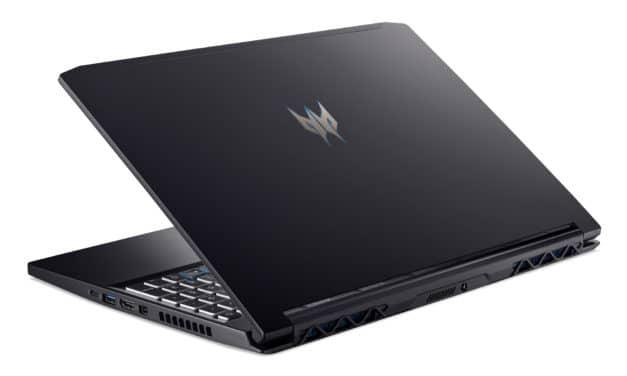 """Acer Predator Triton 300 PT315-52-70GL, Ultrabook 15"""" 120Hz gamer rapide RTX 2060 fin léger (1439€)"""