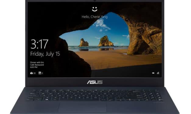 """Asus FX571GT-AL717T, PC portable 15"""" polyvalent gamer créateur rapide fin léger avec Optane (799€)"""