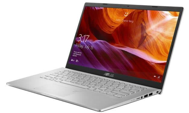 """Asus R409DA-EK065T, PC portable 14"""" argent rapide et léger avec SSD 512 Go (509€)"""