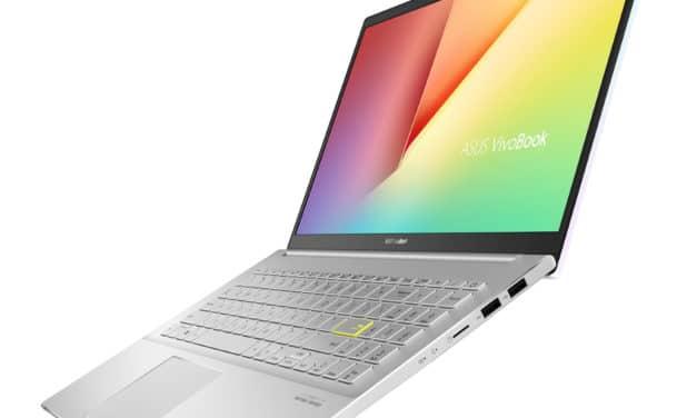 "Asus Vivobook S533IA-EJ087T, ultrabook 15"" blanc à reflets avec Octo Core Ryzen 7 (839€)"