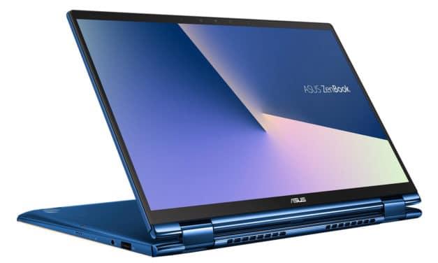 """Asus ZenBook Flip 13 UX362FA-EL221T, ultrabook 13"""" convertible tablette bureautique (879€)"""