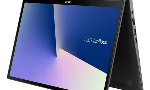 Asus ZenBook Flip 14 UX463FL-AI085T, 14 pouces Tablette productif avec ScreenPad (1499€)