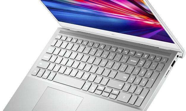 """Dell Inspiron 15 7501, Ultrabook 15"""" argent léger fin rapide pour créateurs et joueurs GTX 1650 (979€)"""