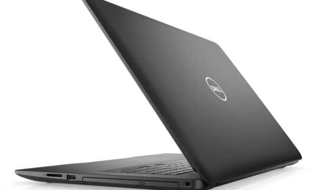 """<span class=""""promo"""">Promo 526€</span> Dell Inspiron 17 3793, PC portable 17"""" noir offrant un gros espace de stockage et un graveur CD/DVD"""