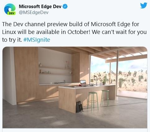 Edge Chromium Linux