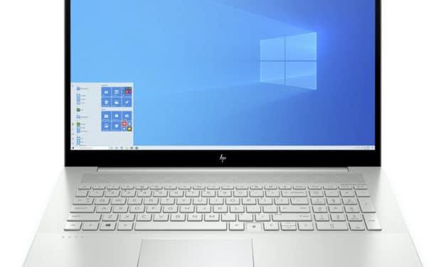 HP Envy 17-cg0016nf, 17 pouces fin et rapide multimédia avec MX330 (1199€)